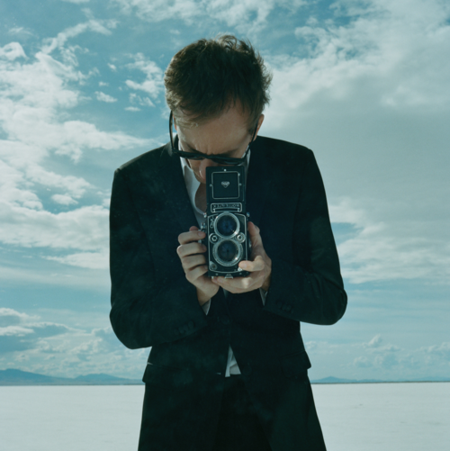 Tyler Shields, Rolleiflex Self Portrait  Digital Chromogenic Print