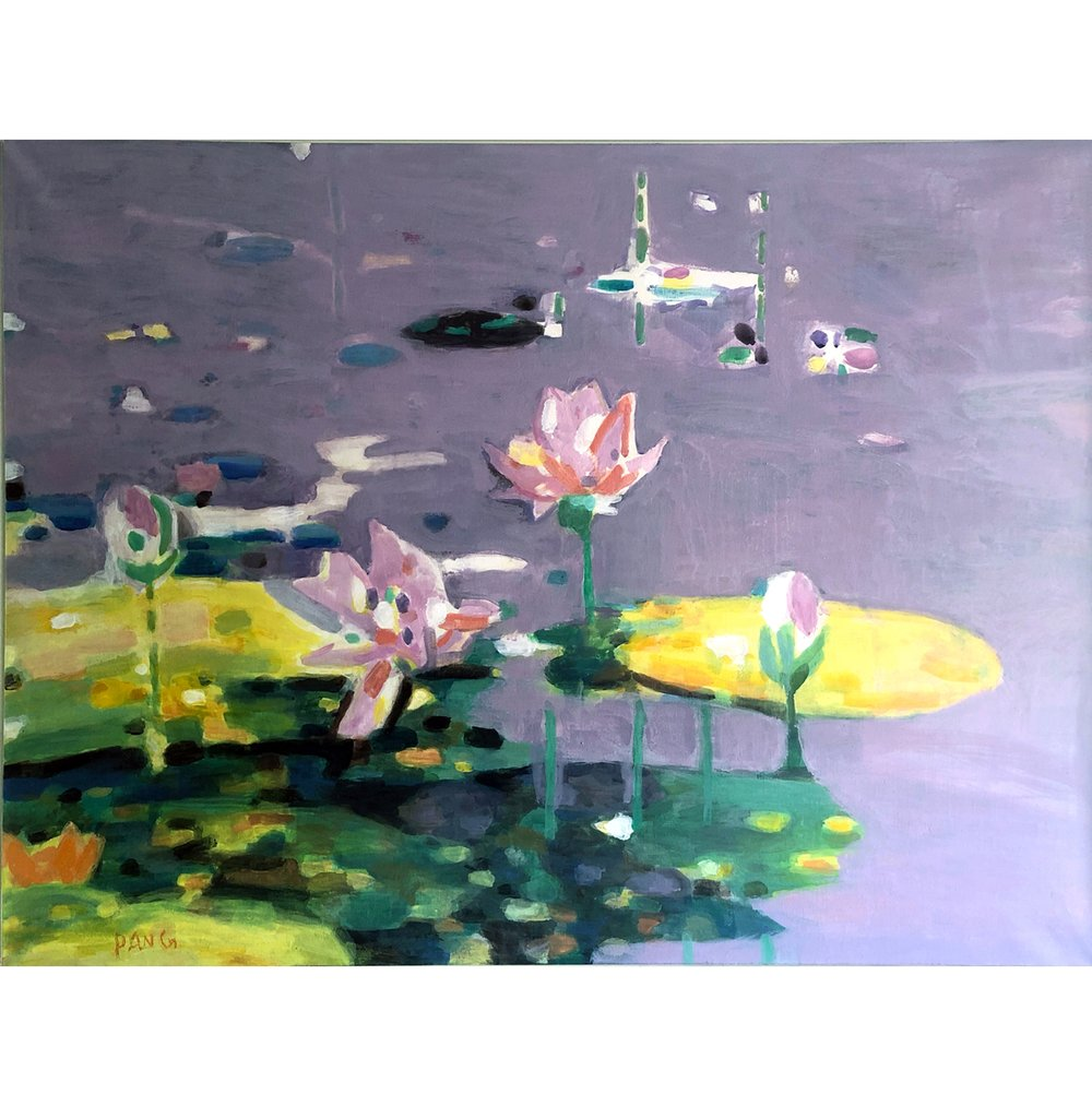 Water Lily - Oil on Canvas.jpg