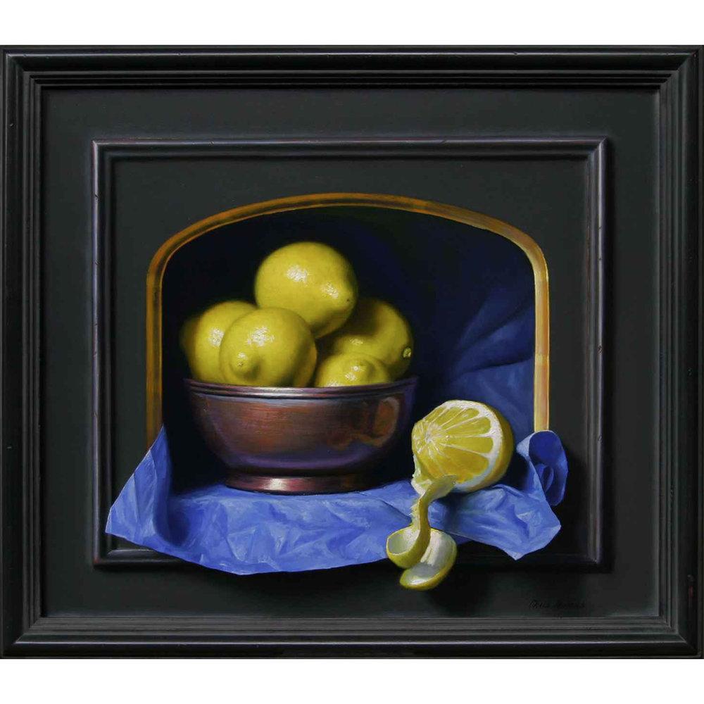 Emerging Lemons- Oil on Wood Panel.jpg