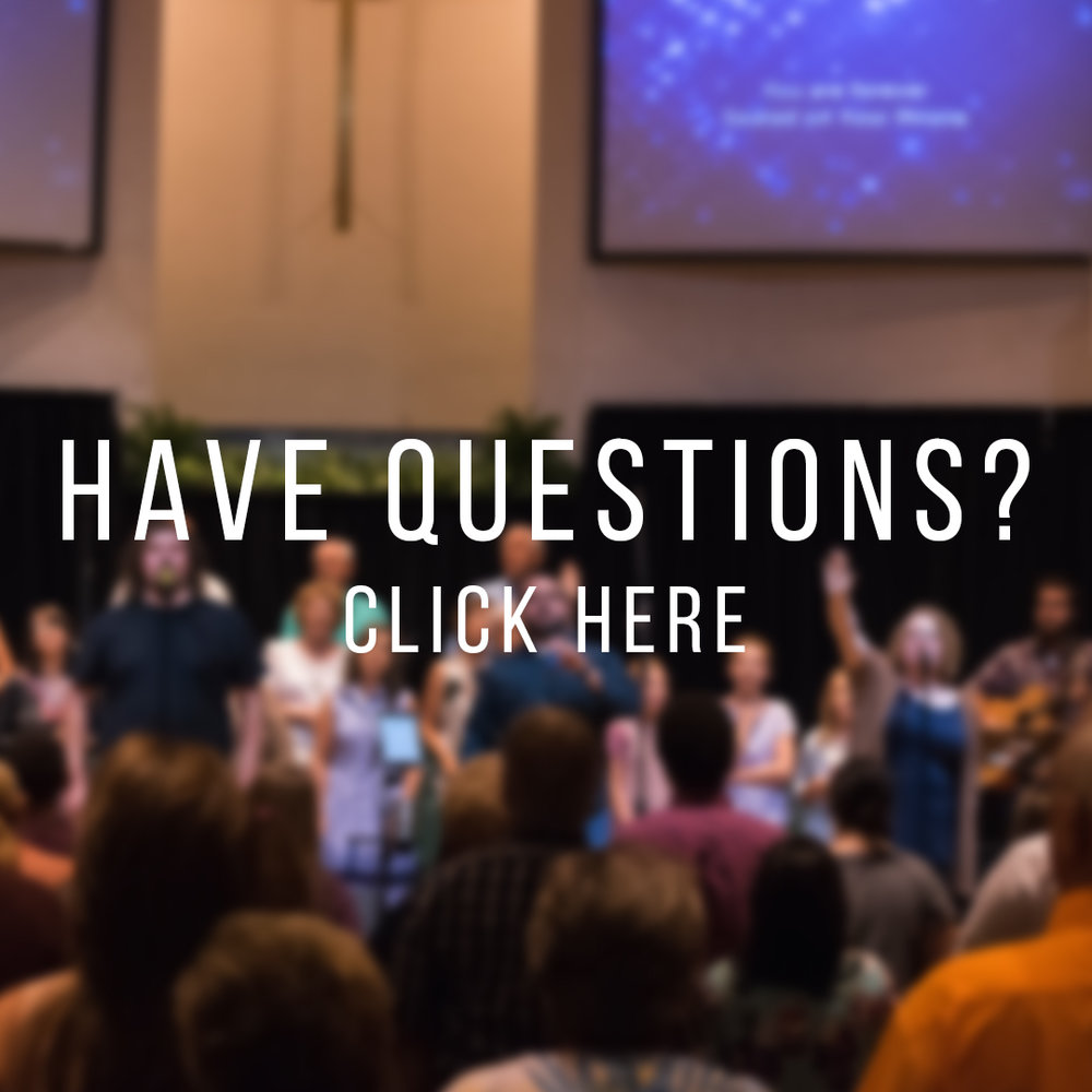 Do you have questions for us? - What should you expect when you come to fbc? We've put together a small list of questions that you may have about church. If your question is not listed, contact us and we will be glad to talk or meet with you!