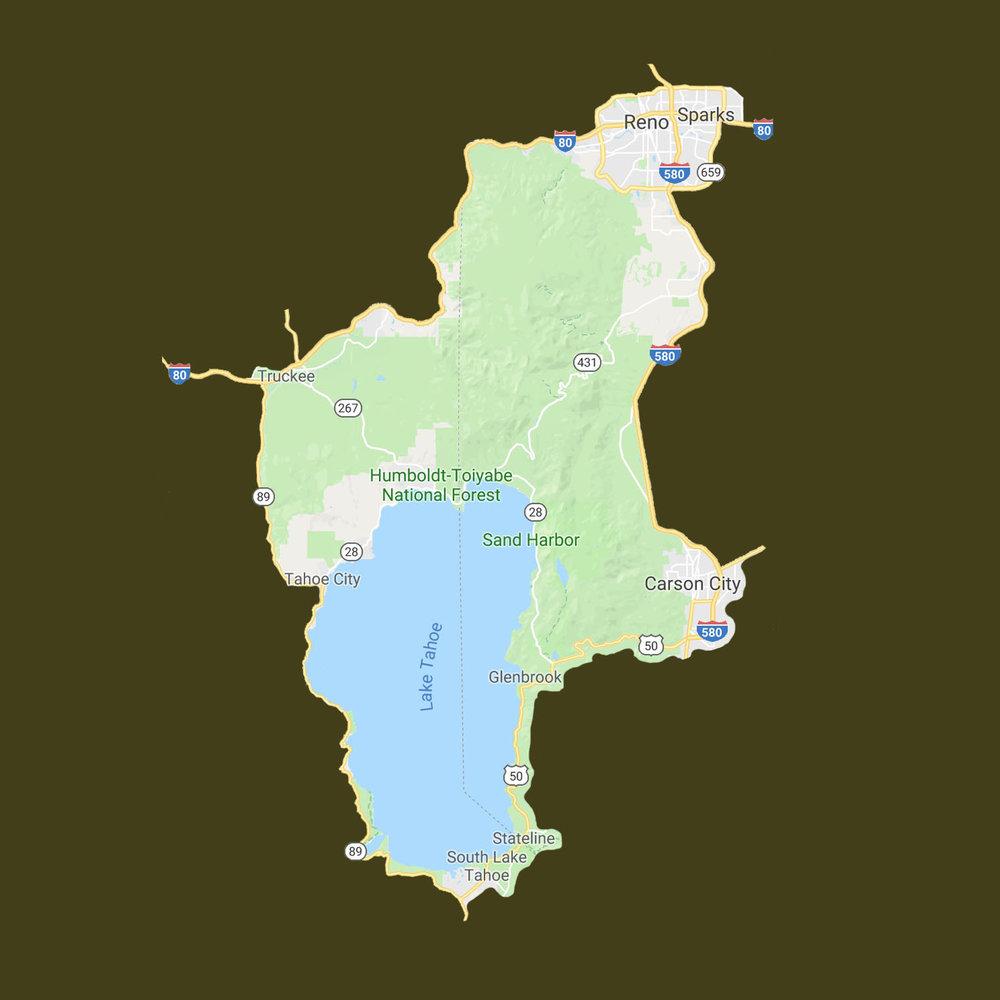Tahoe/Reno Area - South Lake Tahoe/StatelineReno/Sparks
