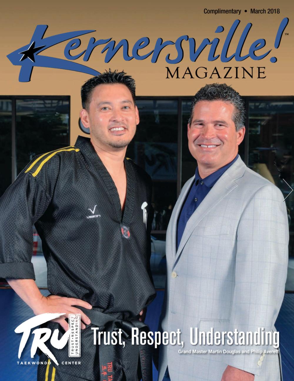 TRUST, RESPECT, UNDERSTANDING - Kernersville Magazine, March 2018Written by: Bruce Frankel