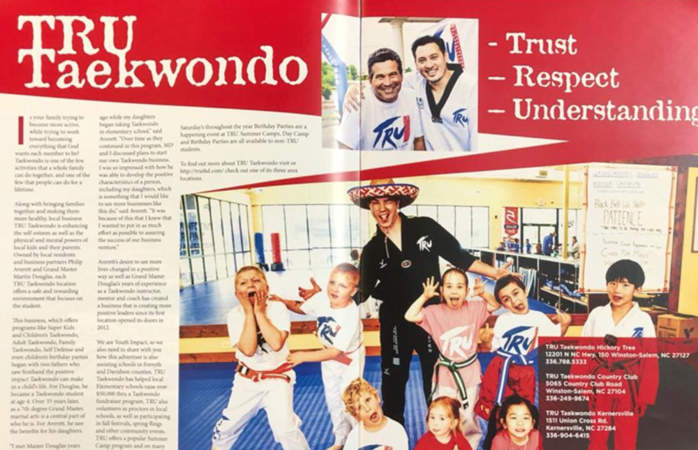 TRU TAEKWONDO - Youth Impact Magazine, August 2018
