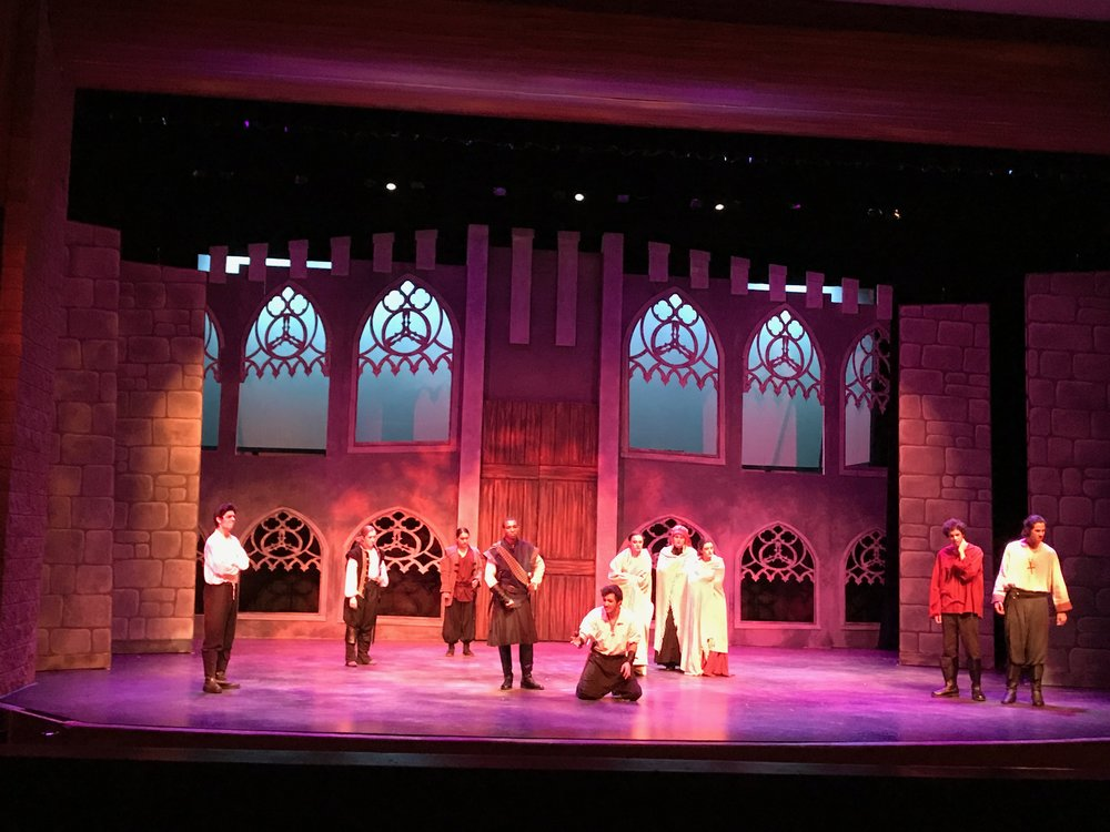 Macbeth   at Chaminade College Prep  Photo by Michael Davis