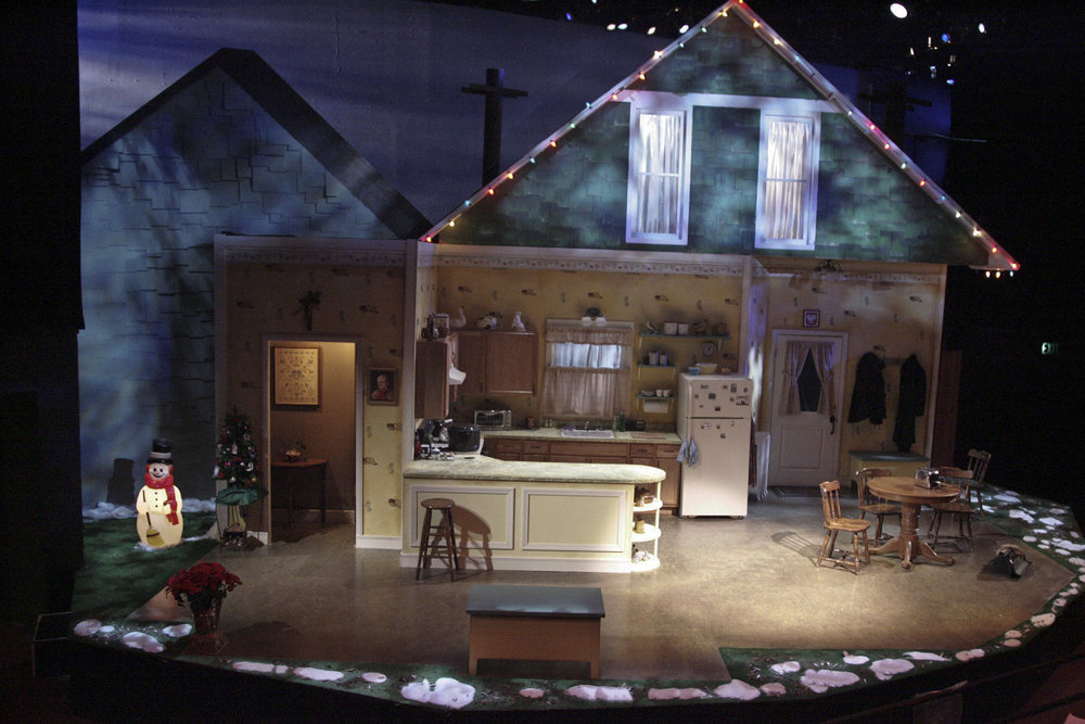 Miracle on South Division Street   at The Colony Theatre  Photo by Michael Lamont
