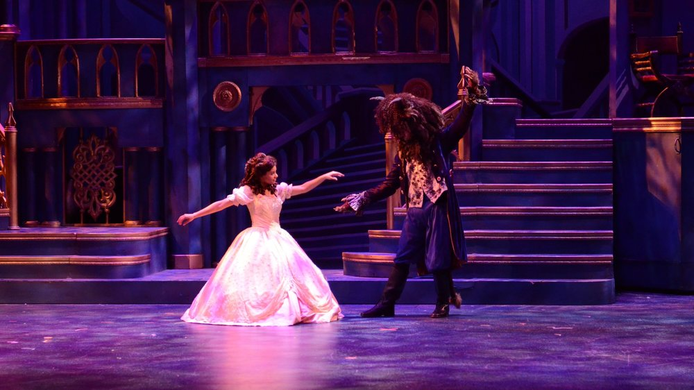 Beauty and The Beast   at Chaminade College Prep  Photo by