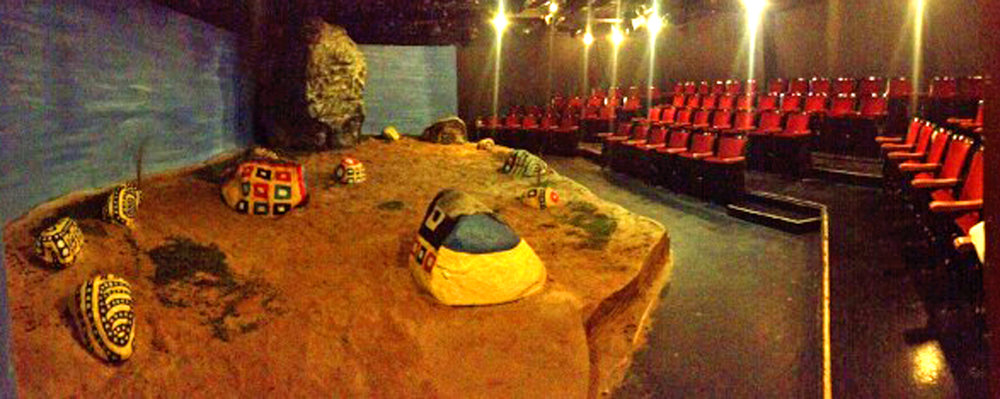 The Painted Rocks at Revolver Creek   at The Fountain Theatre   Photo courtesy of The Fountain Theatre