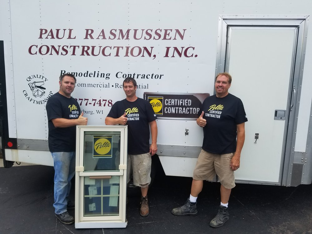 Windows & Doors - As an award winning certified Pella Contractor, Paul Rasmussen construction can provide the highest quality window and door options with expert installation services.  Start saving money today by inquiring about Pella's energy efficient window and door options.