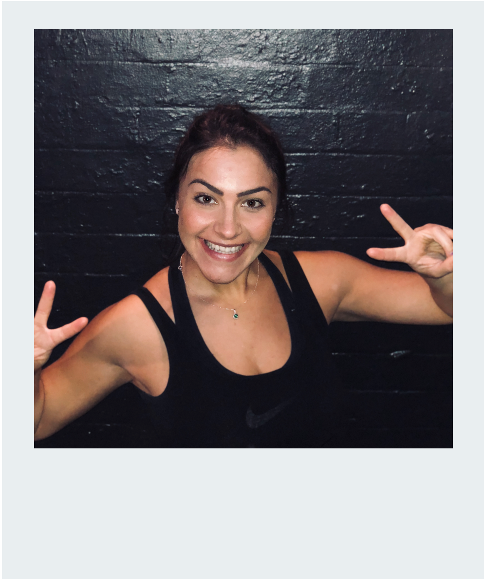 FRONTLINER: NATALIE - Meet the people that help make the magic happen. The guys on the frontline who get you ready to Sweat! How can somebody with the voice of an angel be such a beast in the studio? We'll tell you, strength, perseverance and hard graft
