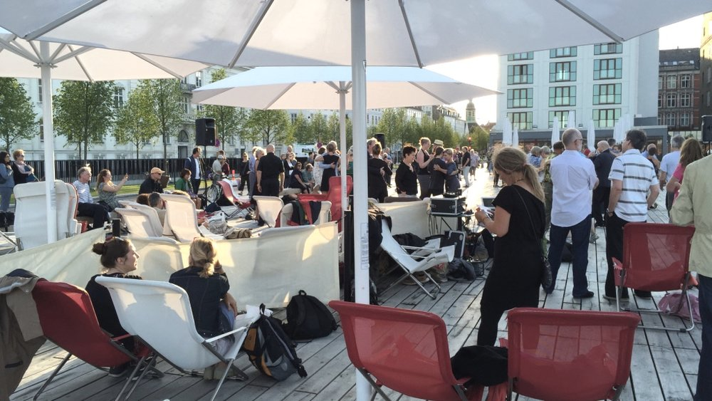 OPEN SPACE RECEPTION -
