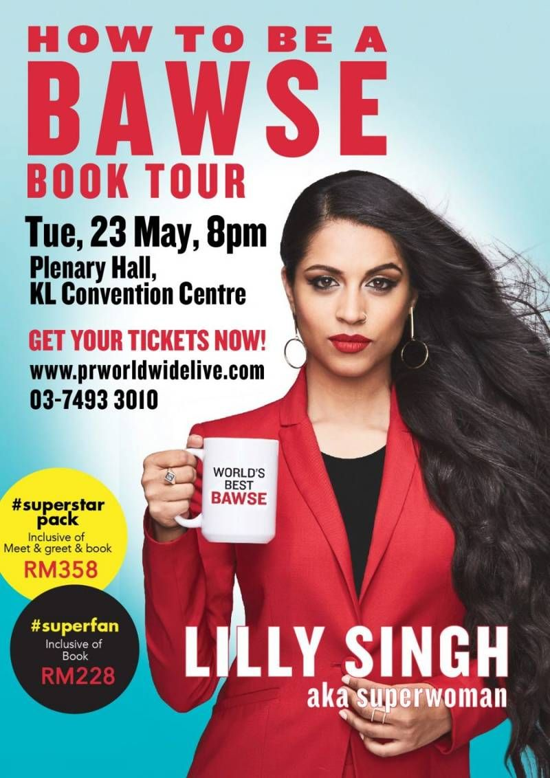 Lily Singh - YouTuber (aka Superwoman) and authorOrder your copy of the book here.