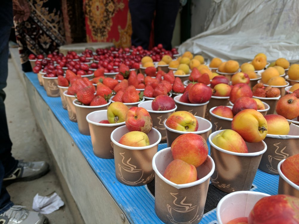 Fresh Fruits on Sale