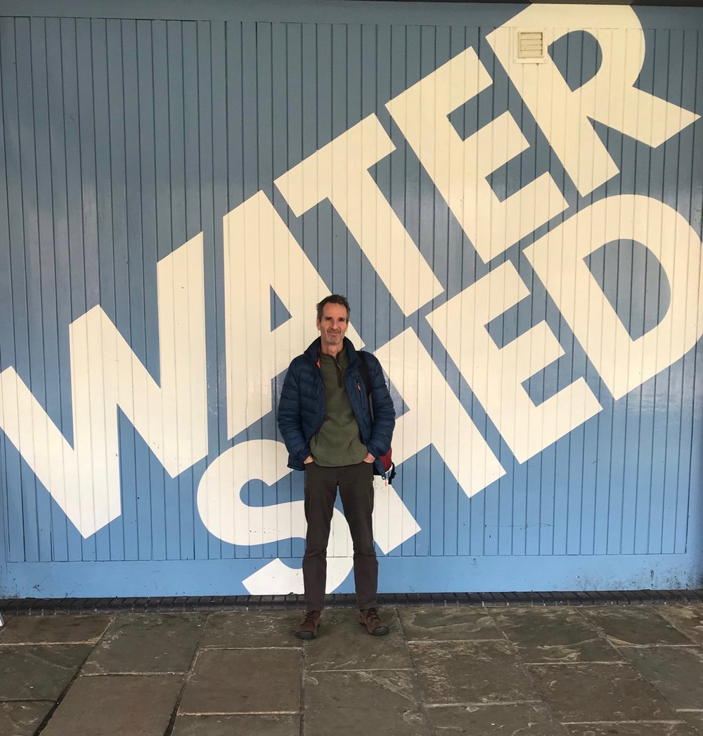 Outside the Pervasive Media Studios in Bristol: home of the broader Ambient Literature Project