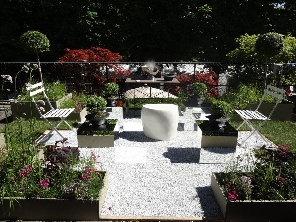 Chapeau basMonsieur Le Nôtre - Salon Jardins, Les tuileries Cha-pots