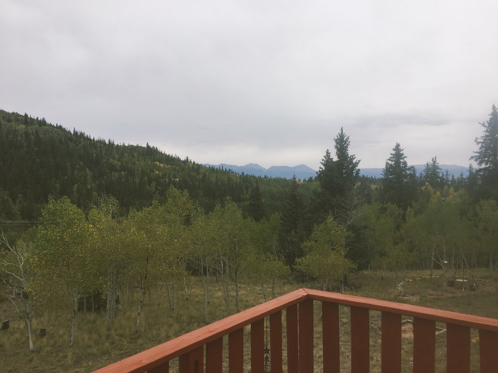 Not the clearest day, but still worth waking up for!