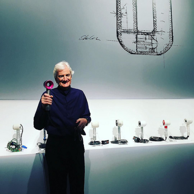 "Sir James Dyson didn't ""give it a go,"" he gave it 5,127 goes."