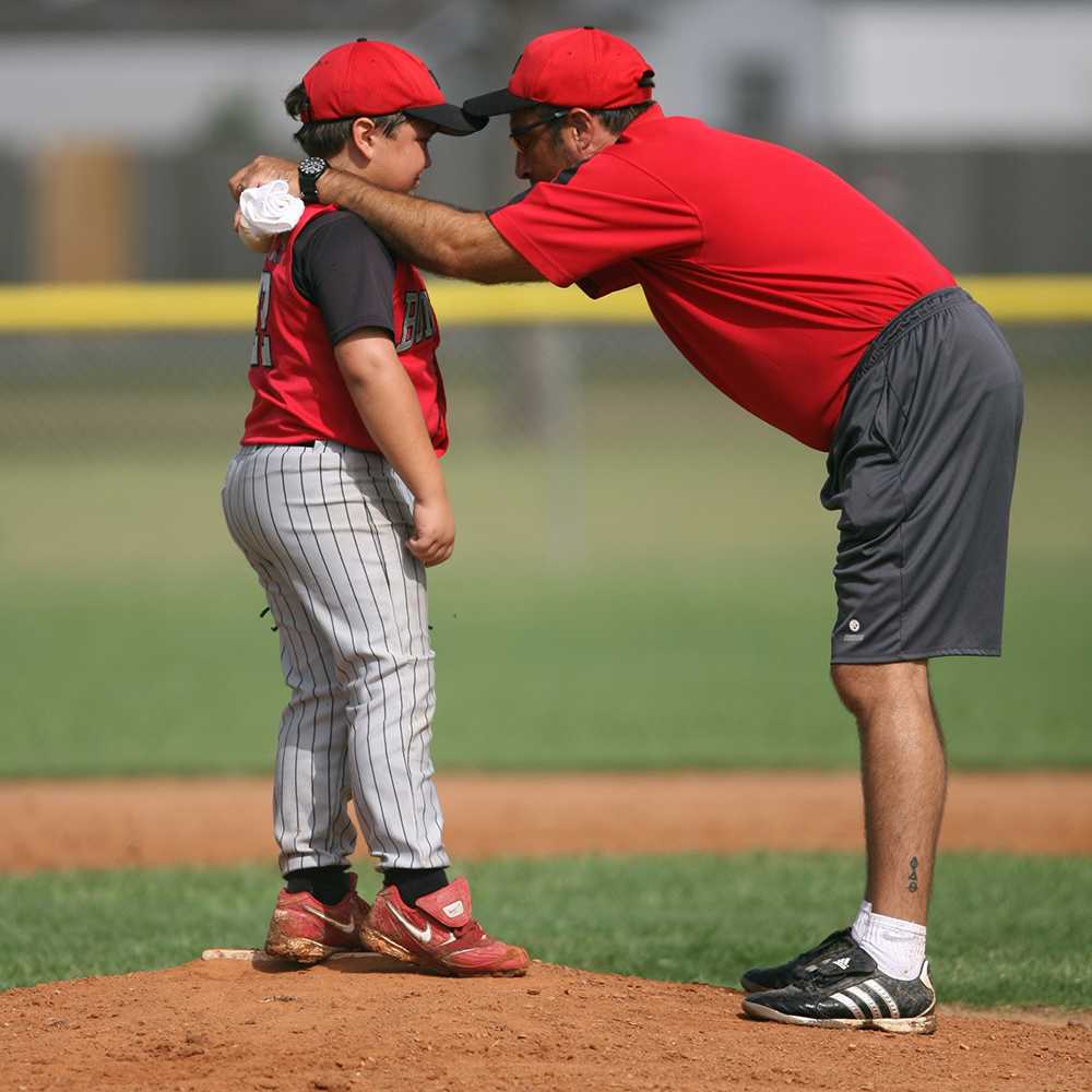 A good coach can encourage you when you feel like giving up and give a well-timed pat on the back.