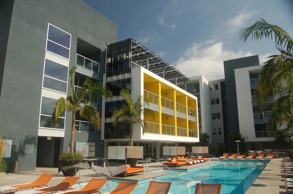 Building Integrated Solar Installation for a hotel.