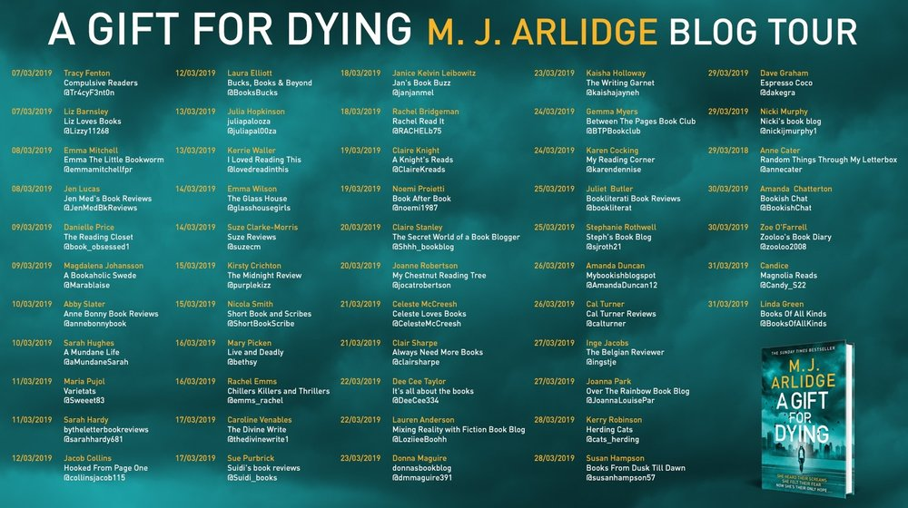MJ Arlidge Blog Tour.jpg
