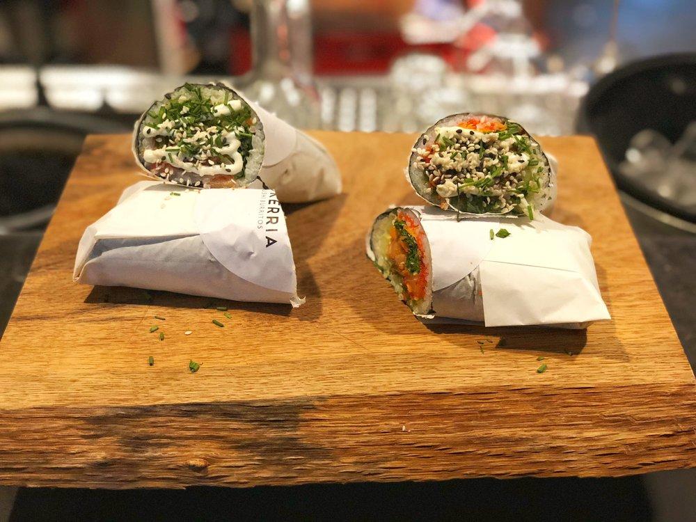 Sushi Burritos - To Go