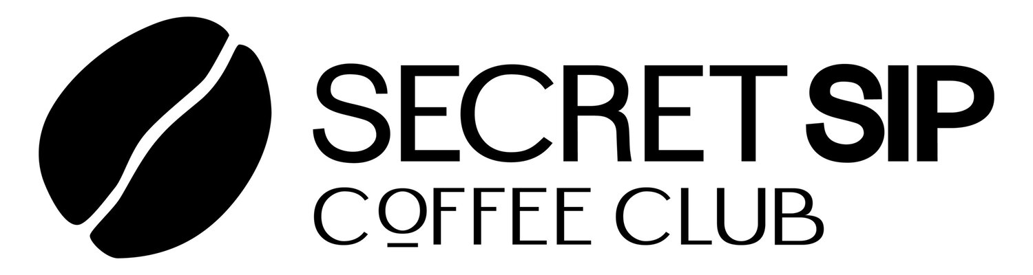 Secret Sip Coffee Club.