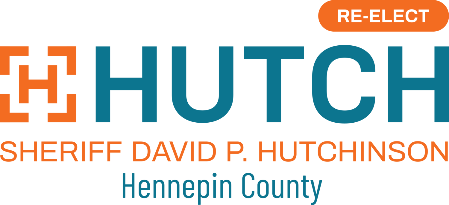 Dave Hutch for Hennepin County Sheriff