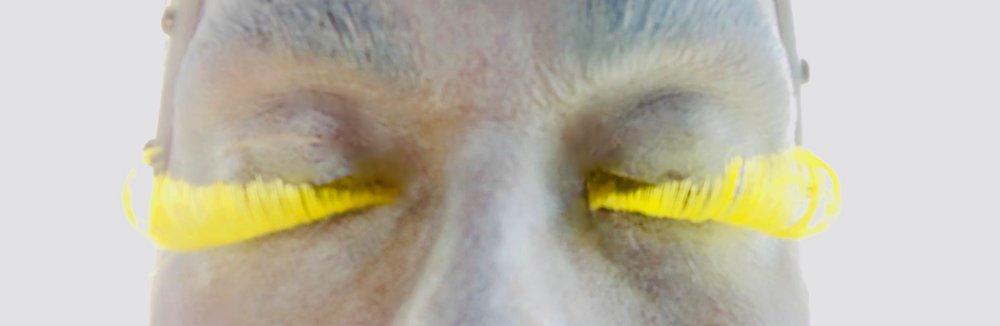 EYEWORKS 2: Flutter.  A study of dancing eyelids.