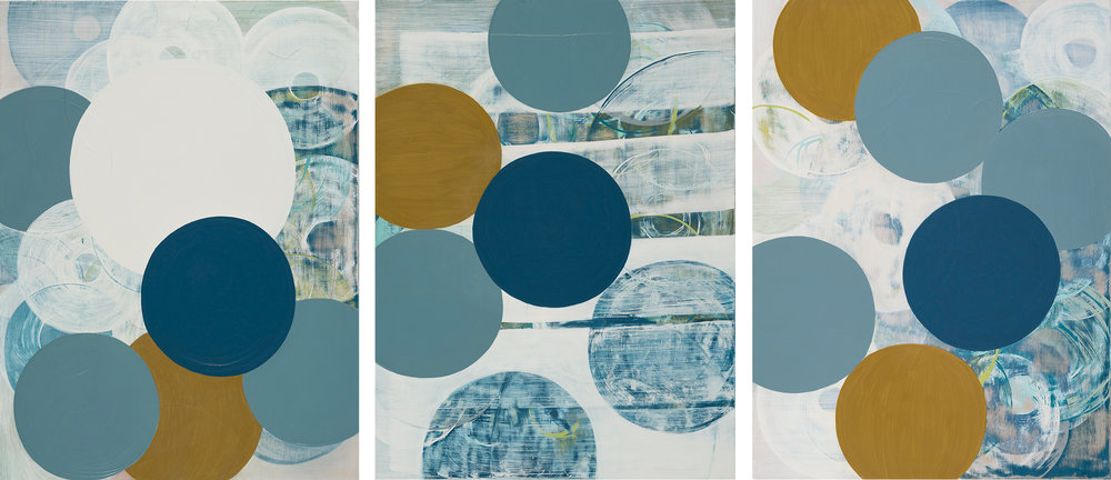 Once in a Blue Moon (triptych)