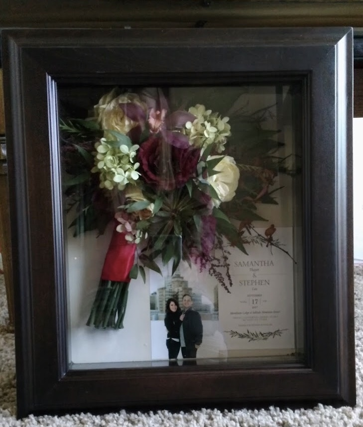 Shadow Box #5 - Large, Rustic Brown