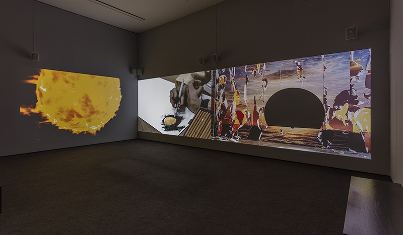 Neha Choksi,  Everything sunbright , installation view,  Made in L.A. 2018 , June 3 – September 2, 2018, Hammer Museum, Los Angeles (photo: Brian Forrest)