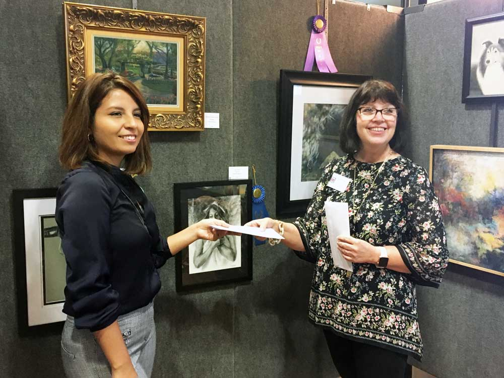 Rockwall-Art-League-Juried-Fine-Art-Show-and-Sale-Deborah-and-Check-II-WEB.JPG