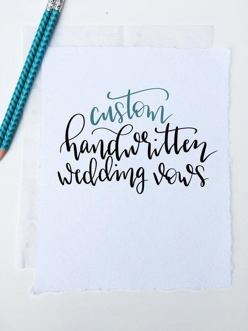 Calligraphy wedding vows world of words calligraphy wedding vows junglespirit Gallery