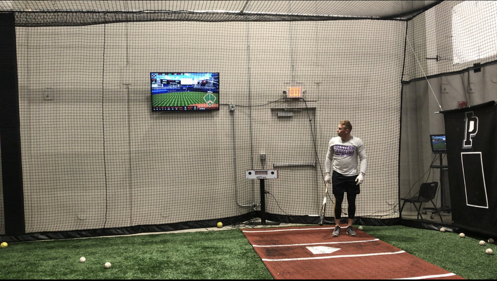 Hitting with HitTrax