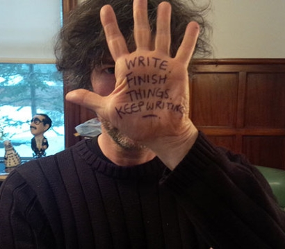 Neil Gaiman's advice on writing.