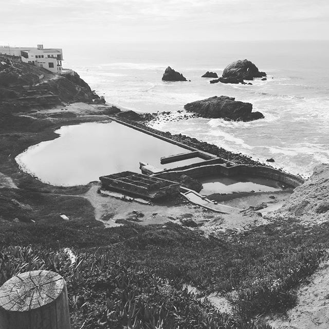 Always will be one of my favorite spots. Sutro Baths in San Fran. . . . . #west #coast #landscape #ruins #travel #roadtrip #history #sights #location #photography