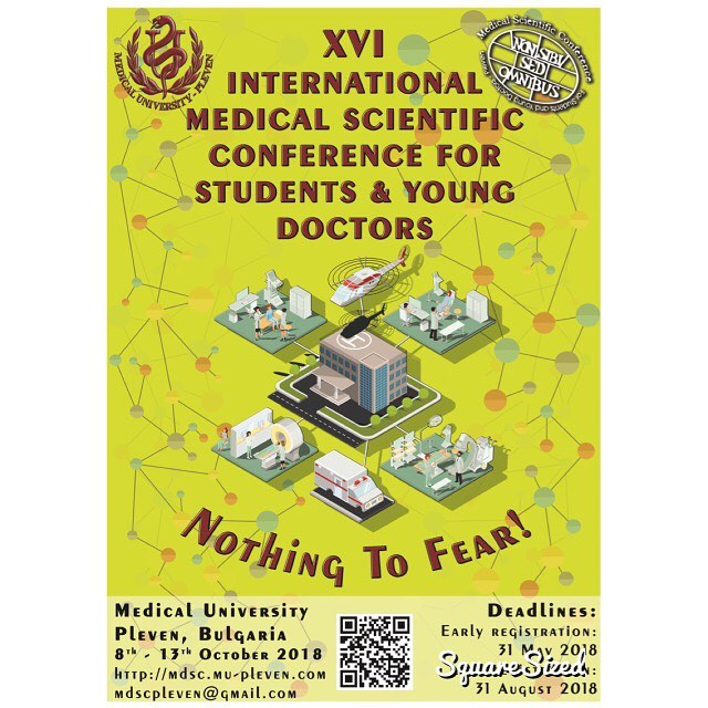 If you're interested in emergency med check out the International Medical Conference For Students & Young Doctors in Bulgaria 🇧🇬 !!!