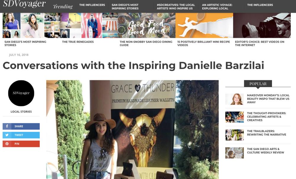 http://sdvoyager.com/interview/conversations-inspiring-danielle-barzilai/