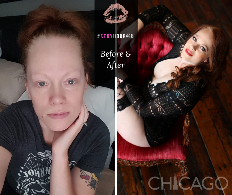 Chicago-Pinup-Boudoir-Photographer-No-Regrets-Blond-Before-and-After