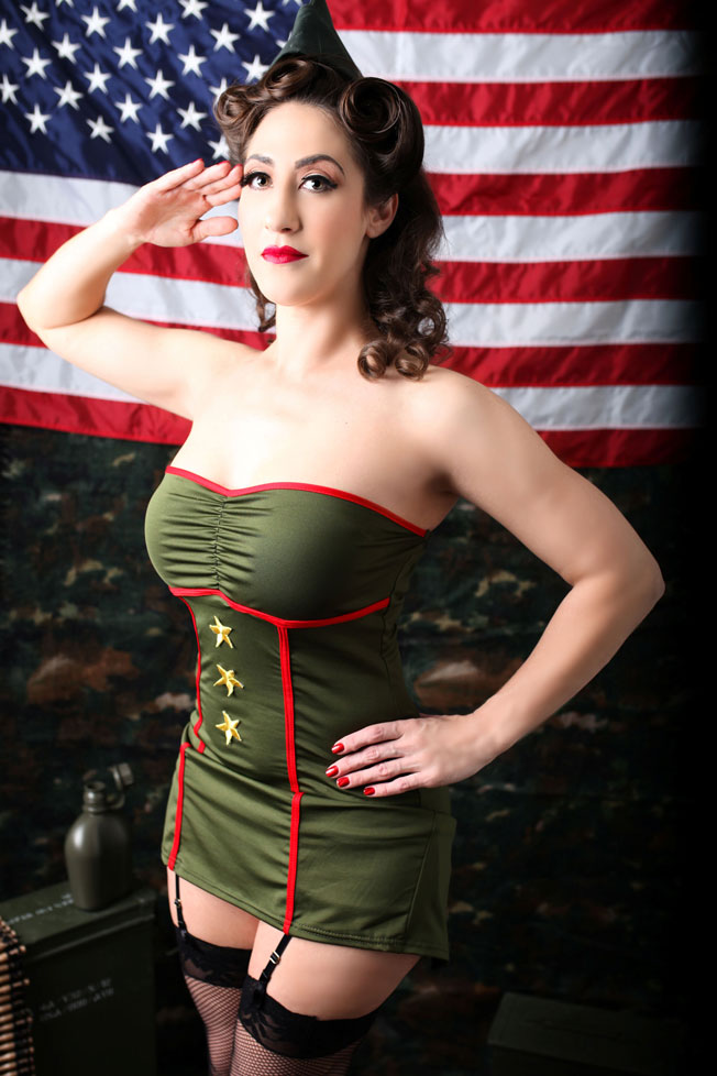 Both pinup & boudoir are all about her feeling empowered