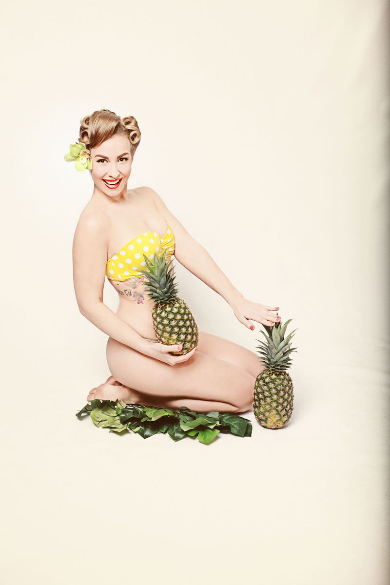 Pinup gal's are sweet like fruit