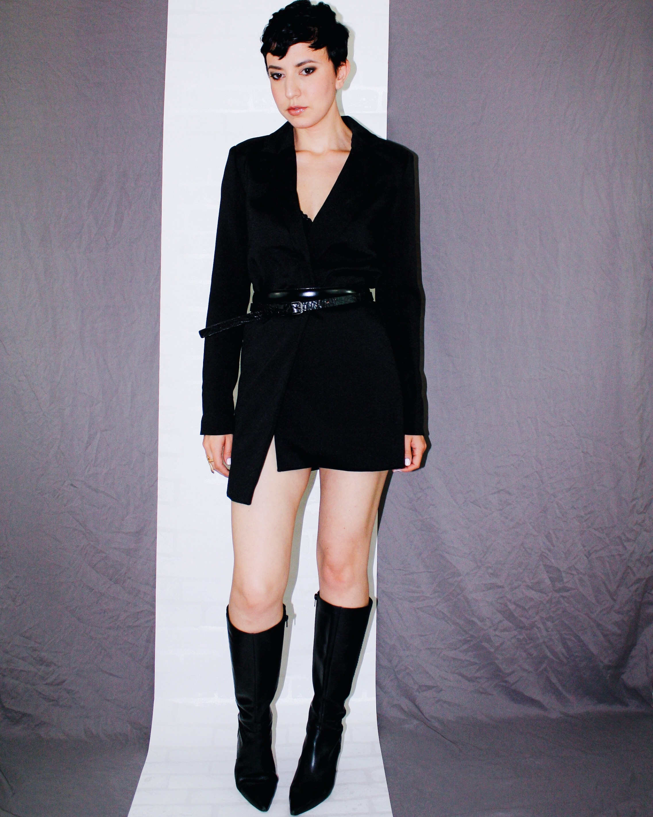 fall is here boots leather helmut lang blazer dress belts black 3