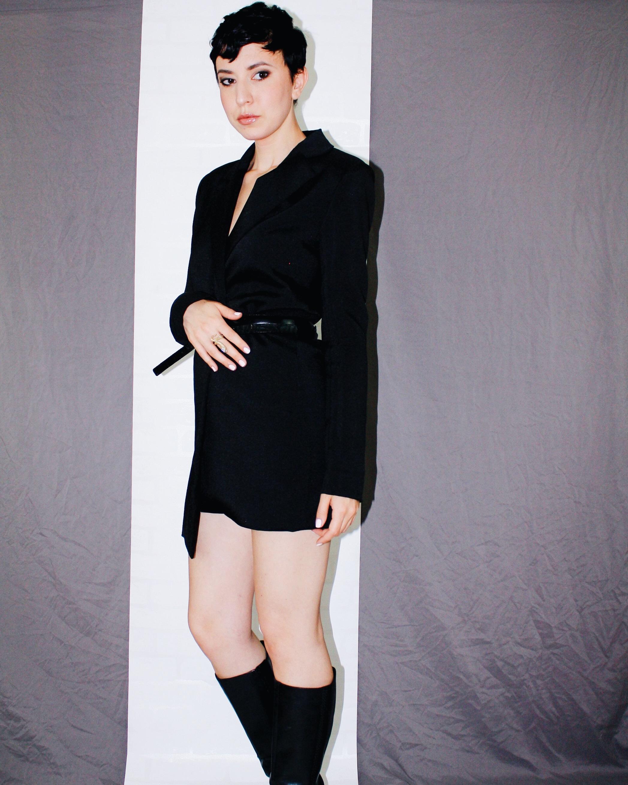 fall is here boots leather helmut lang blazer dress belts black 8