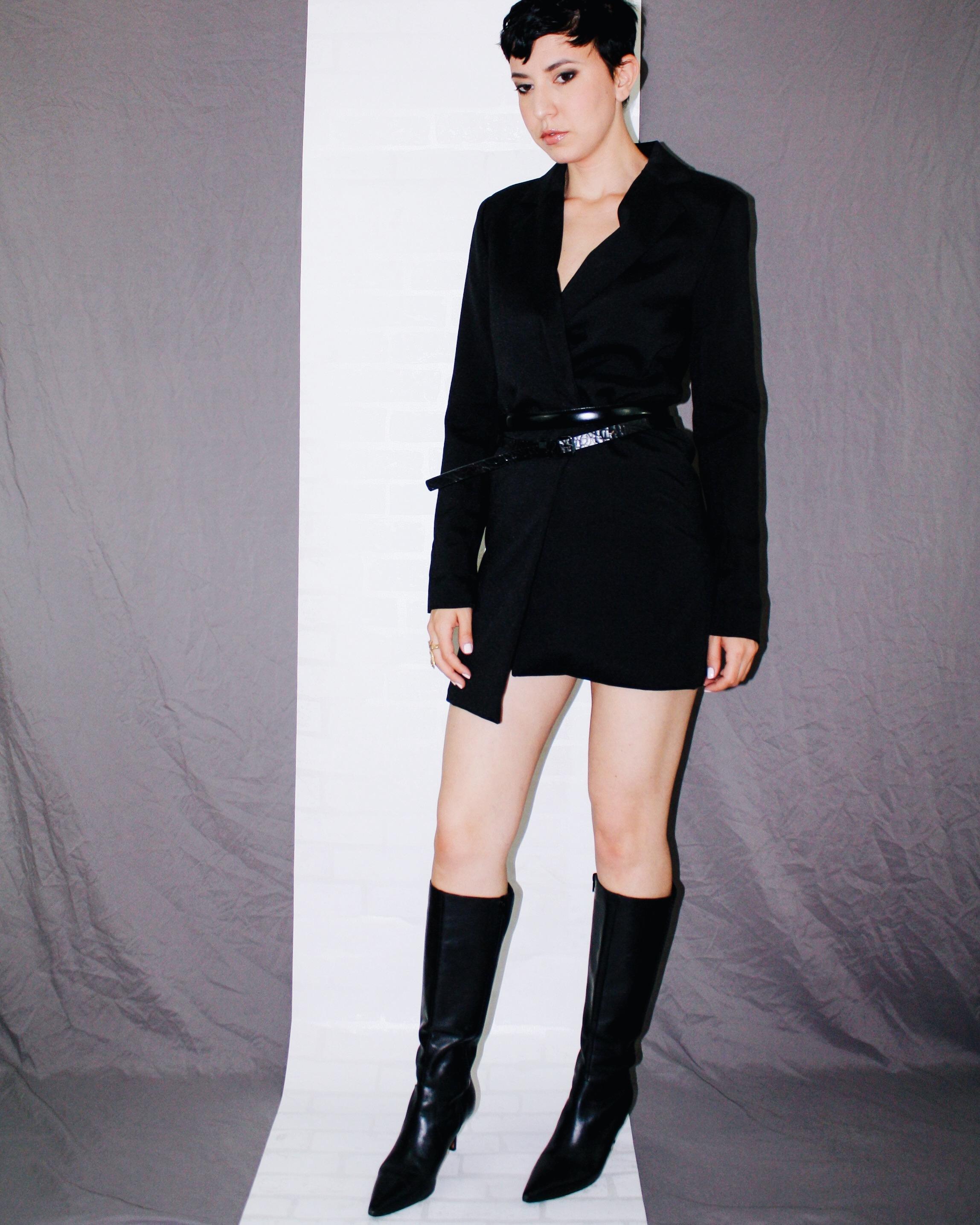 fall is here boots leather helmut lang blazer dress belts black 7