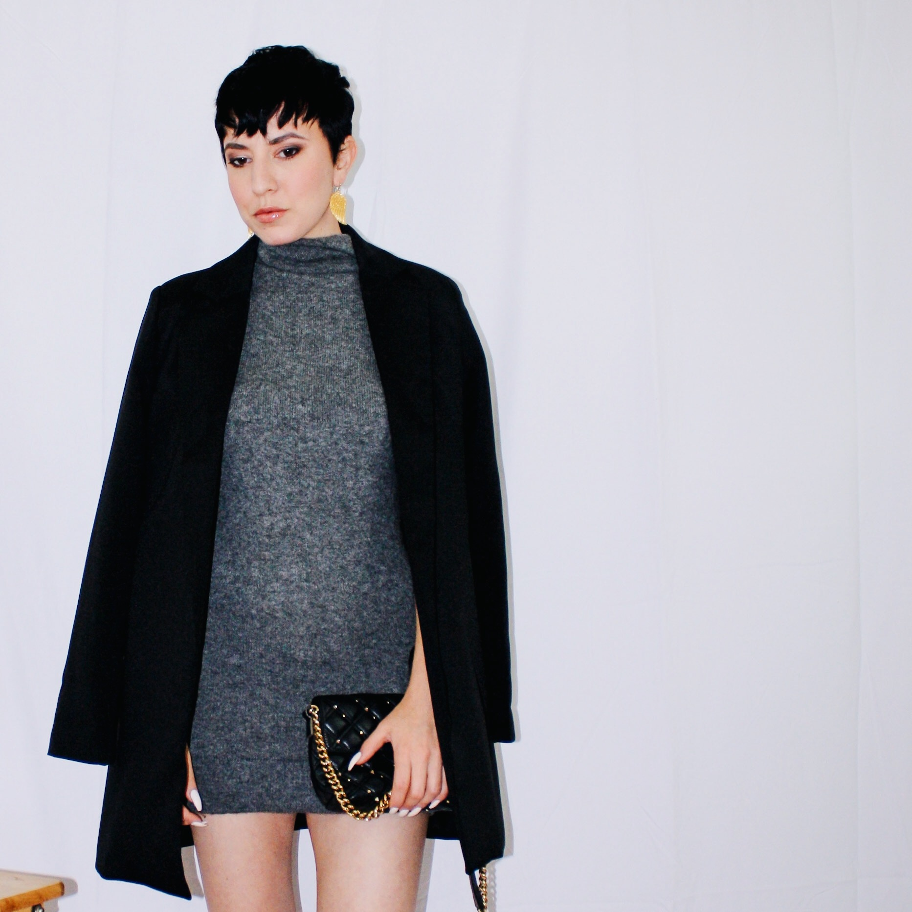 fall lookbook part one long blazer missguided sweater dress vince cashmere slingbacks dior gucci marc jacobs 4
