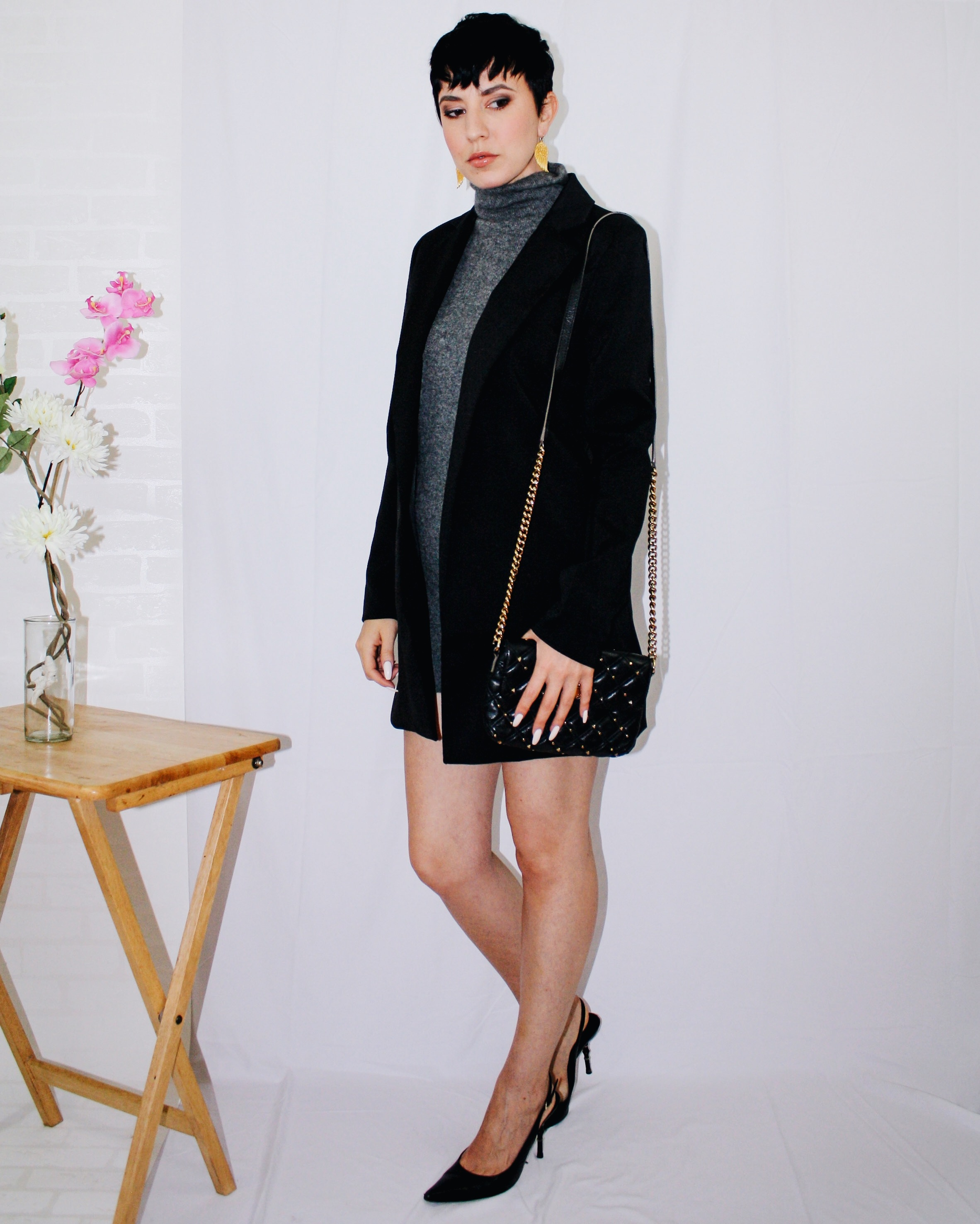 fall lookbook part one long blazer missguided sweater dress vince cashmere slingbacks dior gucci marc jacobs 3