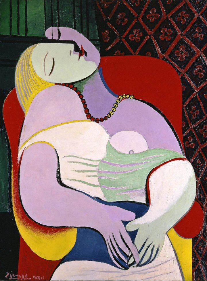 pablo picasso marie therese walter la reve
