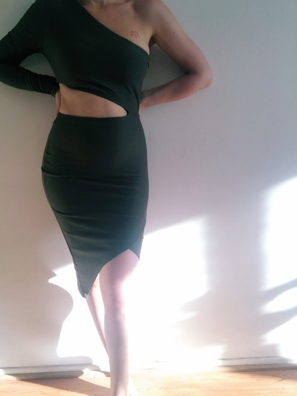 switch to a Body con for the evening -