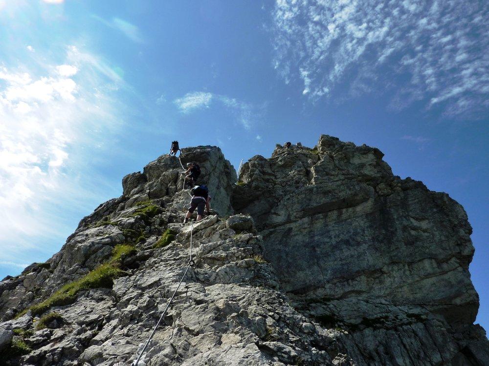Kletterausrüstung Oberstdorf : Abenteuerwochenende oberstdorf die schönsten klettersteige und
