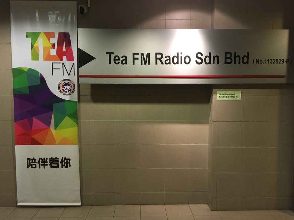 Radio Interview   Interview at Tea FM Radio in Kuching, Malaysia