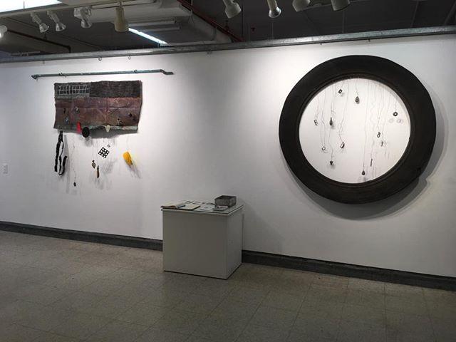 New wall in Studio 7, Torpedo Factory, Alexandria VA #abstractsculpture #colorfulabstractsculpture #sculpture